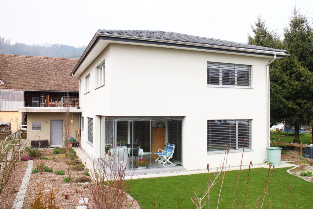 Einfamilienhaus Russell Balgach, Fassade neu