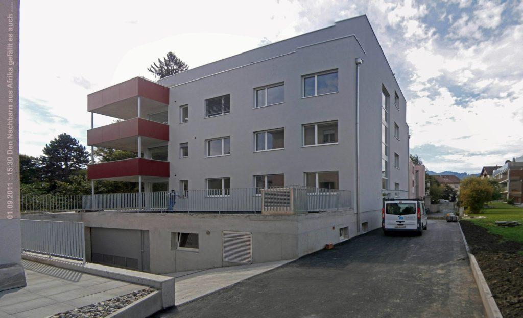Mehrfamilienhaus Tschiro Widnau, Ansicht 1